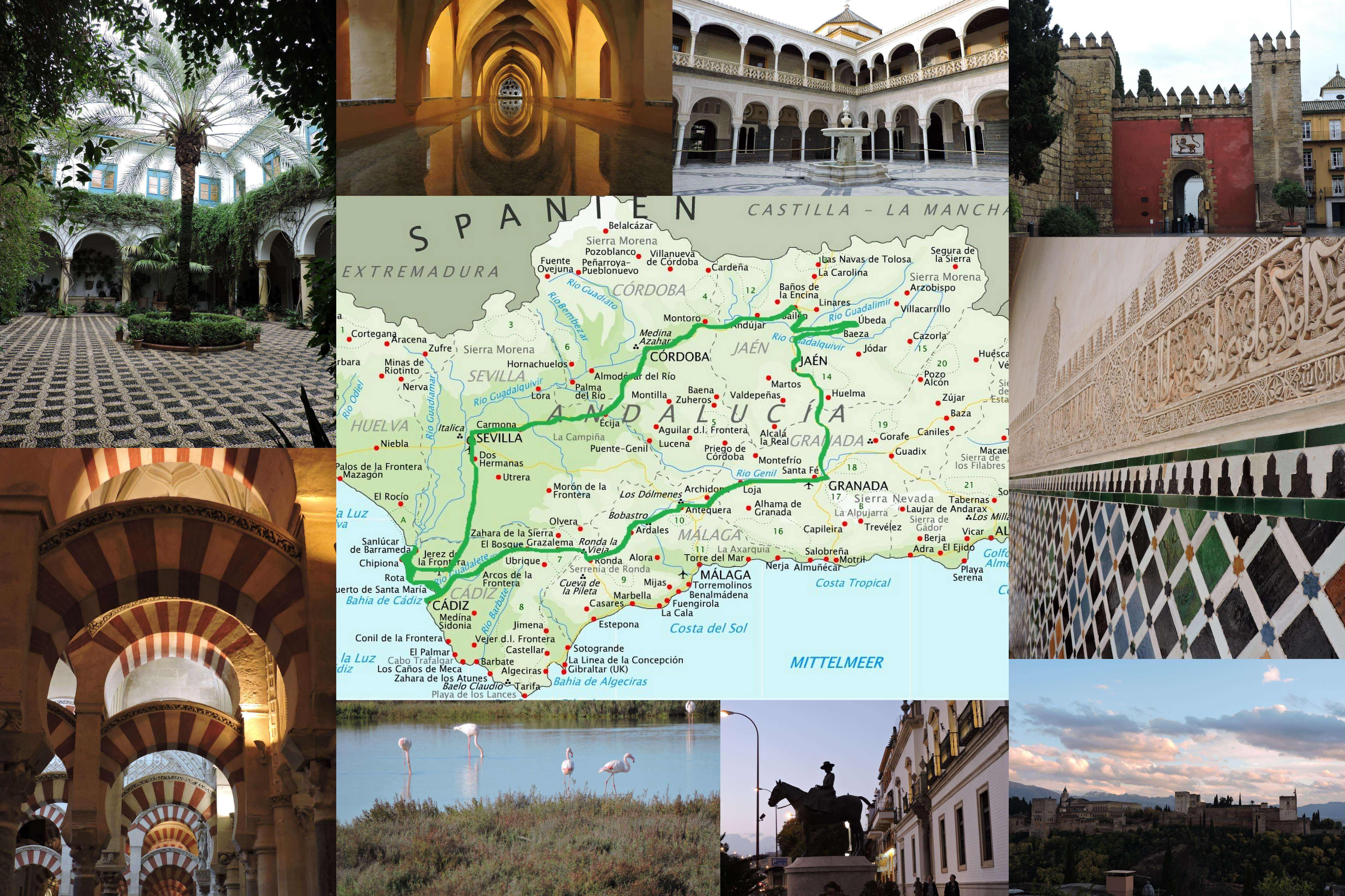 andalousie espagne itineraire roadtrip 1 semaine