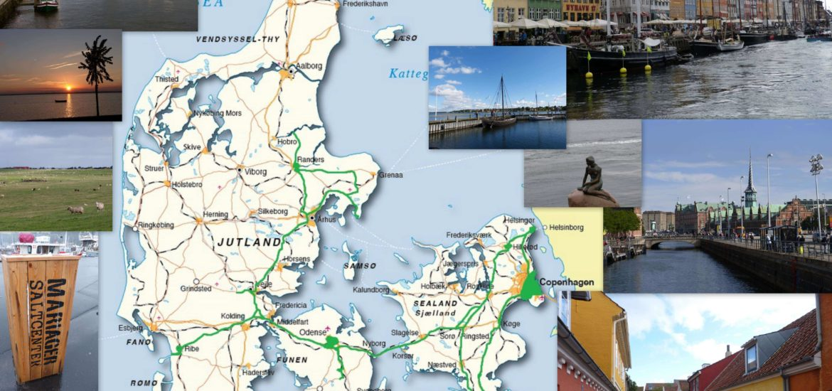 1 semaine Danemark roadtrip itineraire