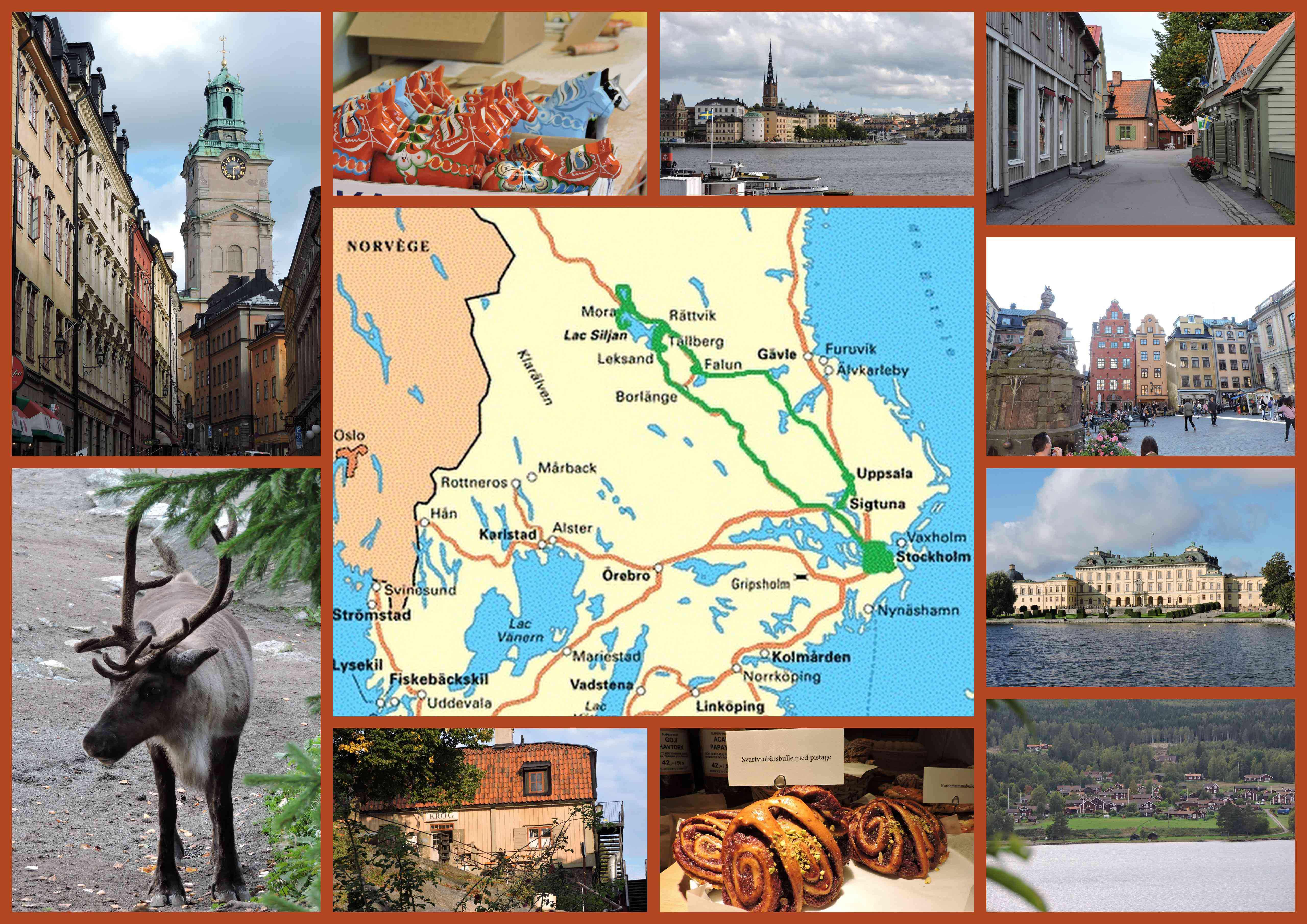 voyage suede stockholm dalecarlie road trip