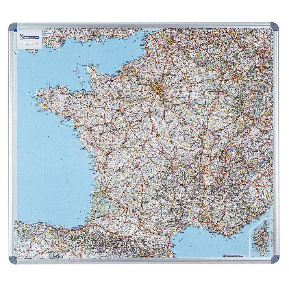 Carte routiere de la France