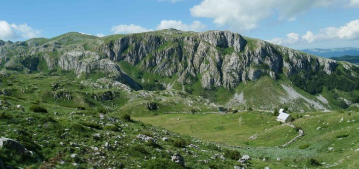 montenegro paysage route P14 durmitor