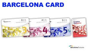 barcelona card weekend barcelone