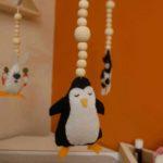 DIY MOBILE FEUTRINE PINGOUIN