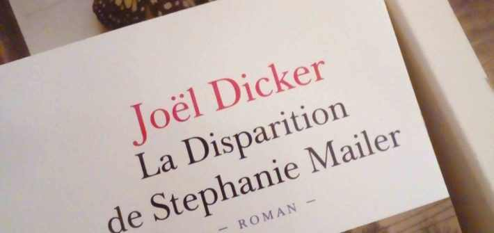 avis lecture disparition stephanie mailer joel dicker