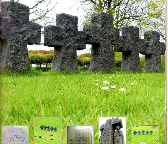 La cambe cimetière allemand weekend plages debarquement normandie (2)