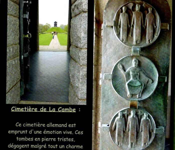 La cambe cimetière allemand weekend plages debarquement normandie