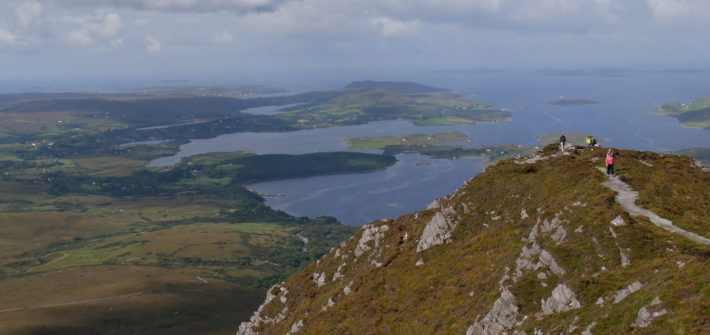 voyage irlande 1 semaine road trip Rando Parc National Connemara