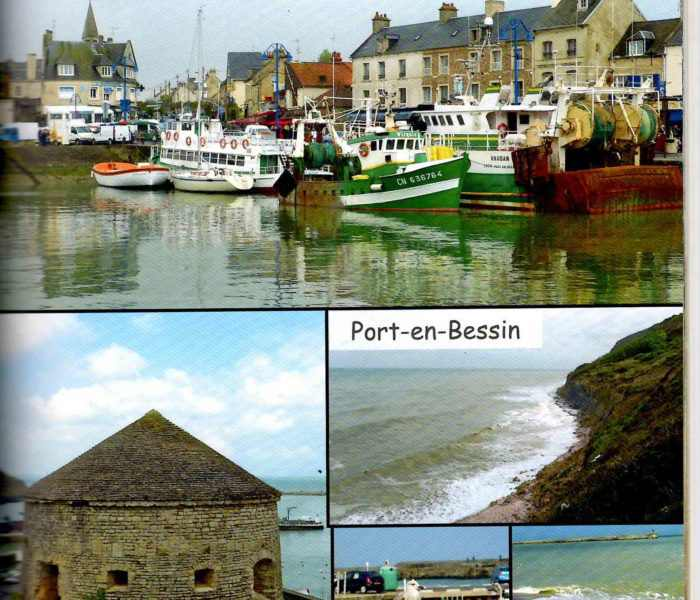 Port en Bessin weekend plages debarquement normandie (2)