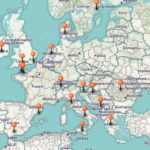 carte europe voyage roadtrip stayfunnyandcreate