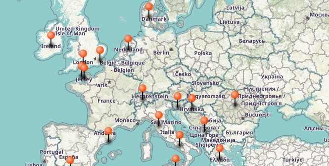 carte europe voyage roadtrip stayfunnyandcreate