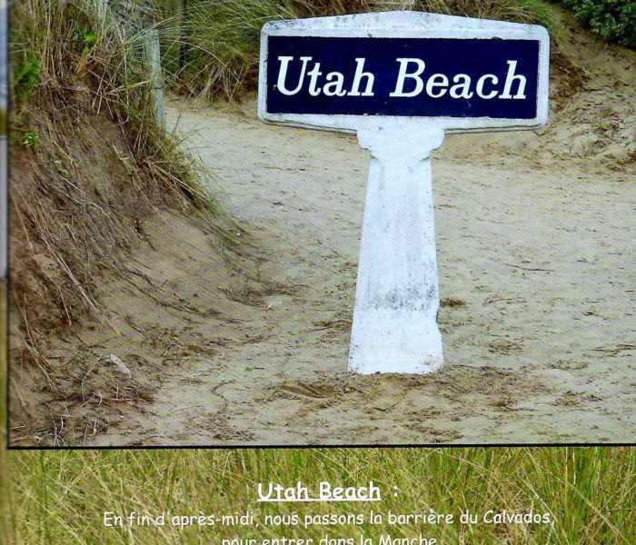 Utah Beach weekend plages debarquement normandie