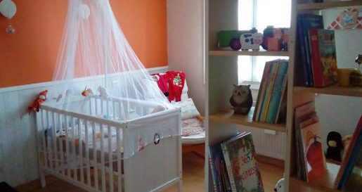decoration chambre enfant renard orange diy