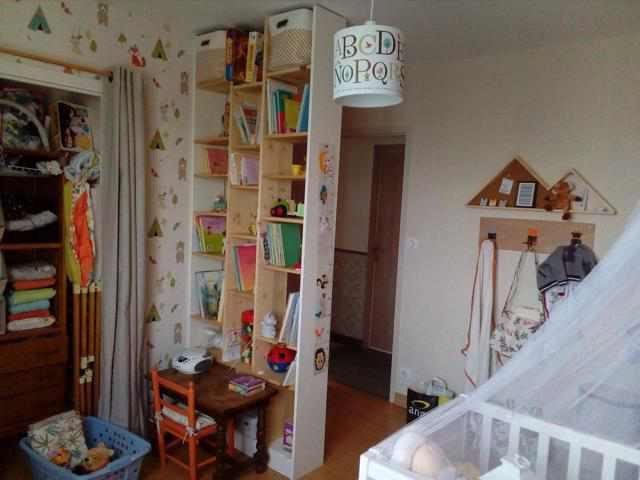 decoration chambre enfant renard orange